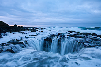 Photo: I haven't had a ton of time for heading out shooting recently, but I had the chance to head down to the Oregon coast with +Jeremy Cram, +Dustin Gent and Paul Bowman and just couldn't pass it up. We had a blast on the trip. This shot if from sunrise at a place called Thor's Well.  Thanks for looking! Feel free to critique if you notice something I didn't.