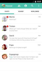 Hoccer – the secure Messenger - screenshot thumbnail