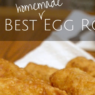 Egg Rolls With Peanut Dipping Sauce Recipes