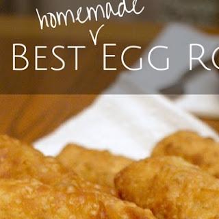 The Best Homemade Egg Rolls.