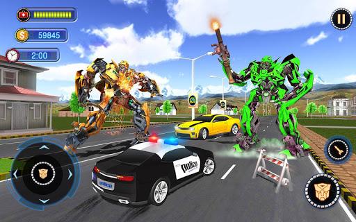 US Robot Car Transform - Police Robot Fighting 1.0.1 screenshots 8