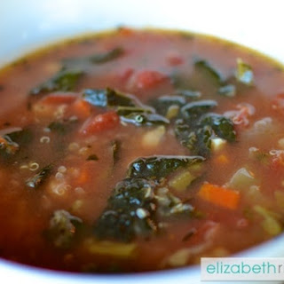 Kale & Quinoa Minestrone Soup Is Divine (& Easy To Make!)