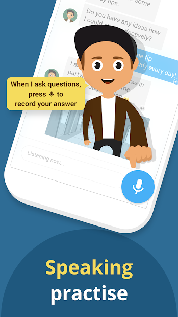 Xeropan: Your English Teacher Android App Screenshot