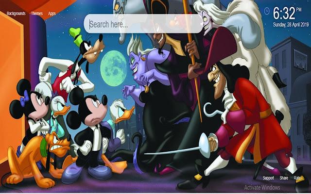 Disney HD Wallpaper New Tab