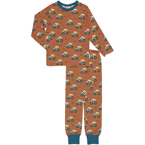 Maxomorra Pyjamas Set LS Dunping Wheels