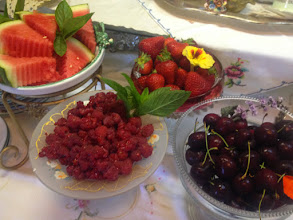 Photo: Fresh Fruit and tasty local Berries