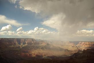 Photo: Storm, Grand Canyon National Park, Arizona, USA