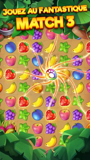 Tropicats: Un Jeu de Chat Gratuit Match 3 Puzzle  captures d'écran 1