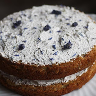 Parsnip and Violet Cake.