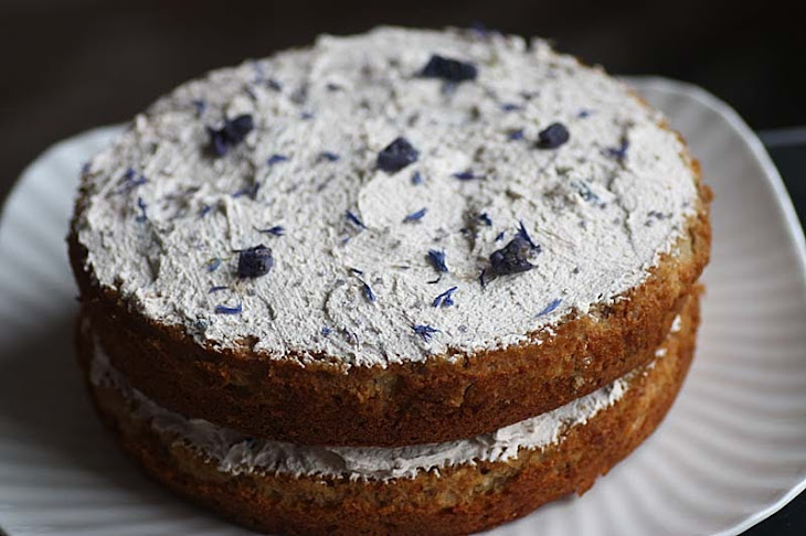 Parsnip and Violet Cake Recipe