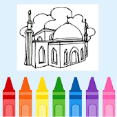 Coloring Mosque / Masjid