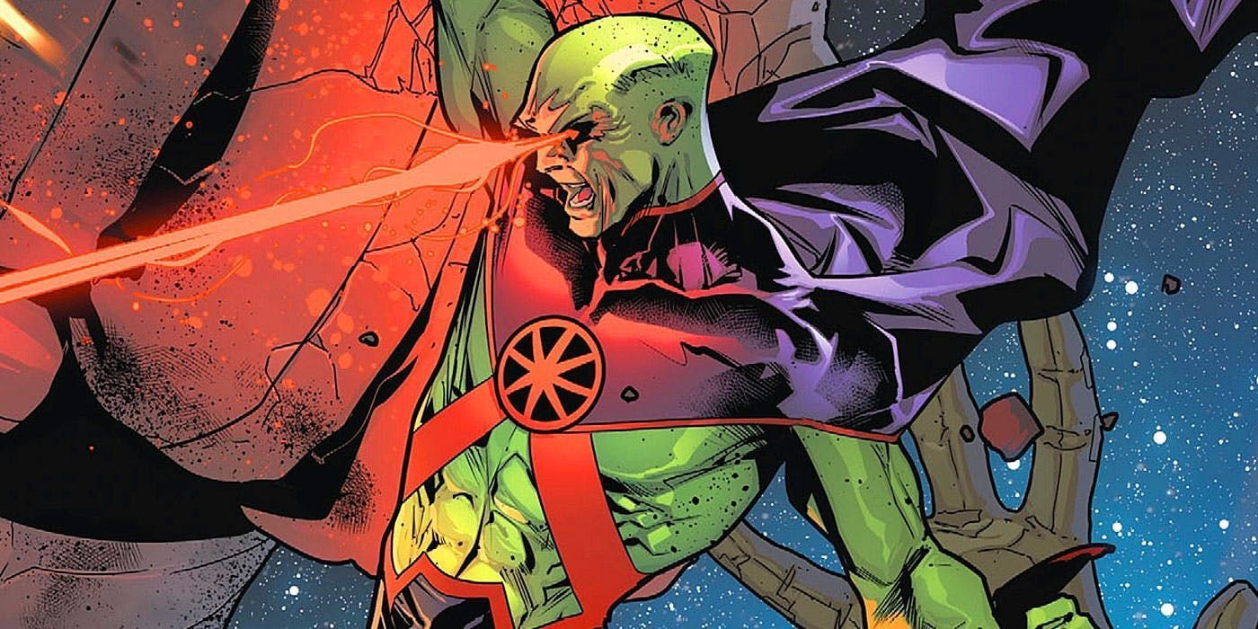 martian manhunter - one of the most powerful DC character