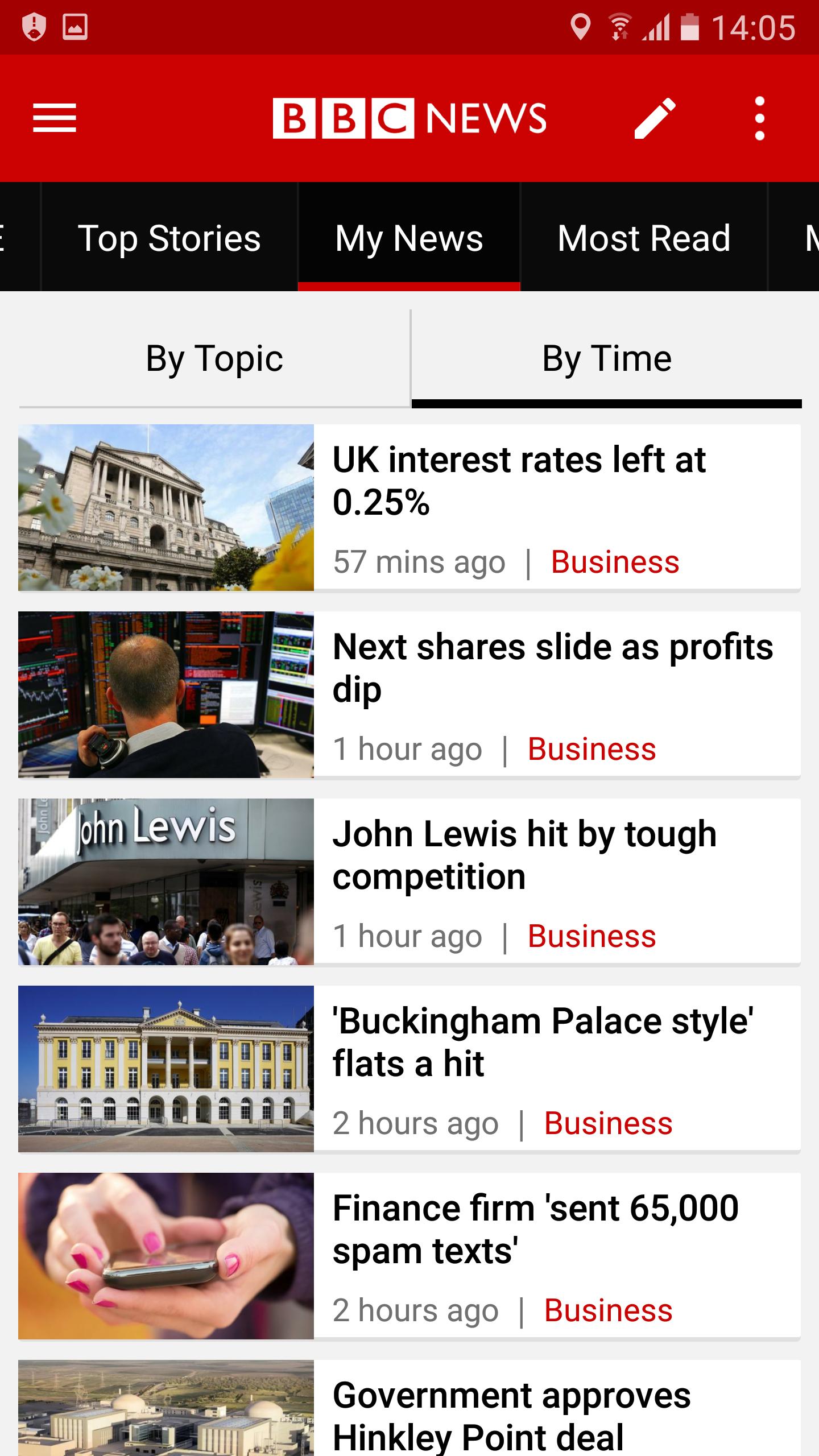 BBC News screenshot #2