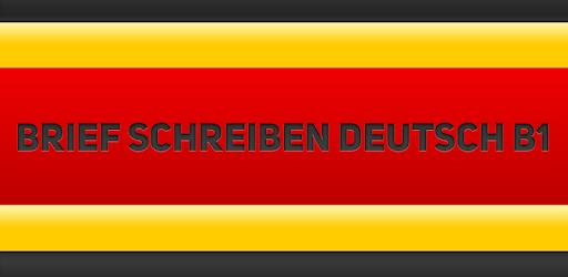 Brief Schreiben Deutsch B1 апликации на Google Play