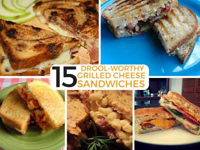15 Drool-Worthy Grilled Cheese Sandwiches