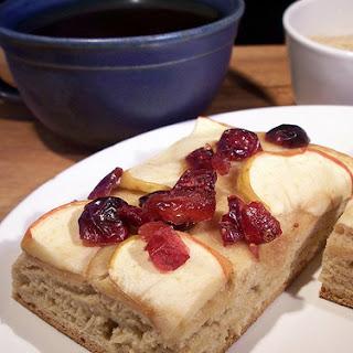 Apple Cranberry Sheetcake with Cardamom