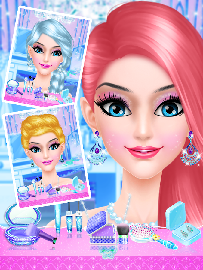 Ice Princess Makeup Salon - Free Girls Games - Android Apps on ...