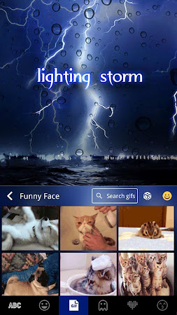 Lighting Storm Kika Keyboard 45.0 screenshot 1272119