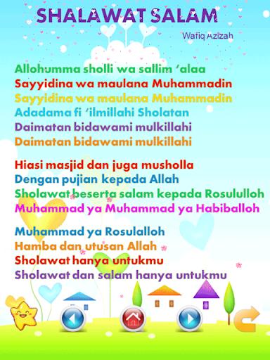Lagu Anak Muslim & Sholawat Nabi  screenshots 6