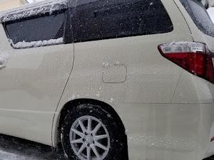 アルファード ANH25W 親車 240S タイプゴールド 4WDのカスタム事例画像 青森県のタイプゴールドさんの2019年04月01日19:47の投稿