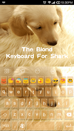 Emoji Keyboard-The Blond