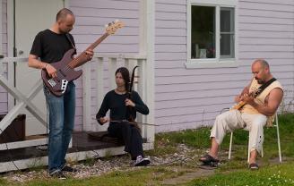 Эрху, гитара и бас • Лайтури-блюз | #voronovcamp 2015