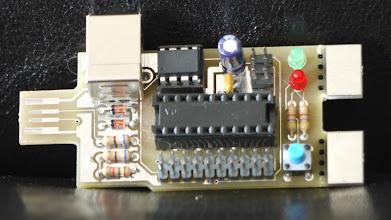 Photo: First XO Stick prototype