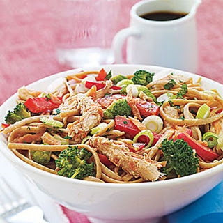 Cold Sesame Noodles with Chicken