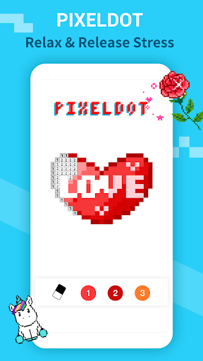 PixelDot - Color by Number Sandbox Pixel Art 1.2.9.0 screenshots 1