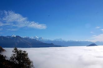 Photo: NEPAL- Himalayas from Therepati