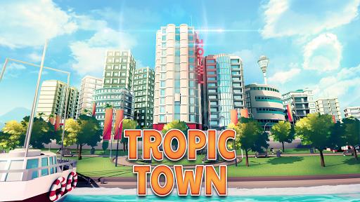 Town Building Games: Tropic Town Island City Sim  screenshots 1