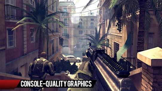 Modern Combat 4: Zero Hour v1.2.3e Mod Apk + Data Free Download 2