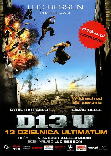 Przód ulotki filmu '13 Dzielnica - Ultimatum'