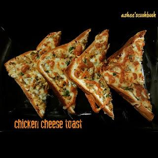 Chicken Cheese Toast