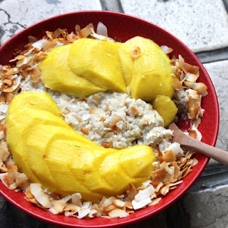 Coconut Mango Oat Porridge Recipe