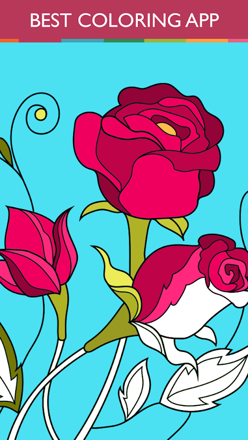 Colorfy coloring book free android apps on google play Coloring book for adults apk