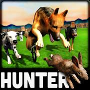 Crazy Dogs Racing Bunny Hunter : Greyhound Dog Sim