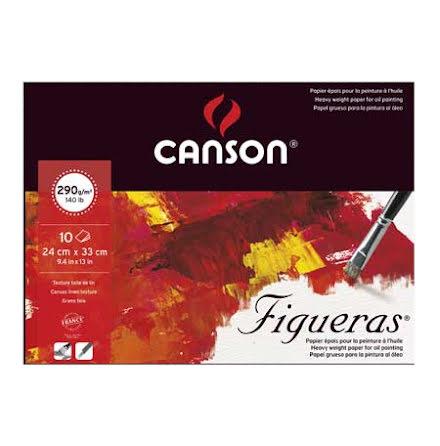 Canson Figueras block 24x33cm 10 ark