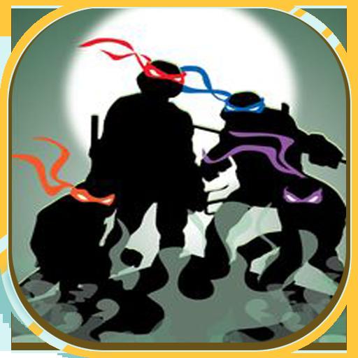 Ninja and Turtle: Turtle Power 動作 LOGO-玩APPs