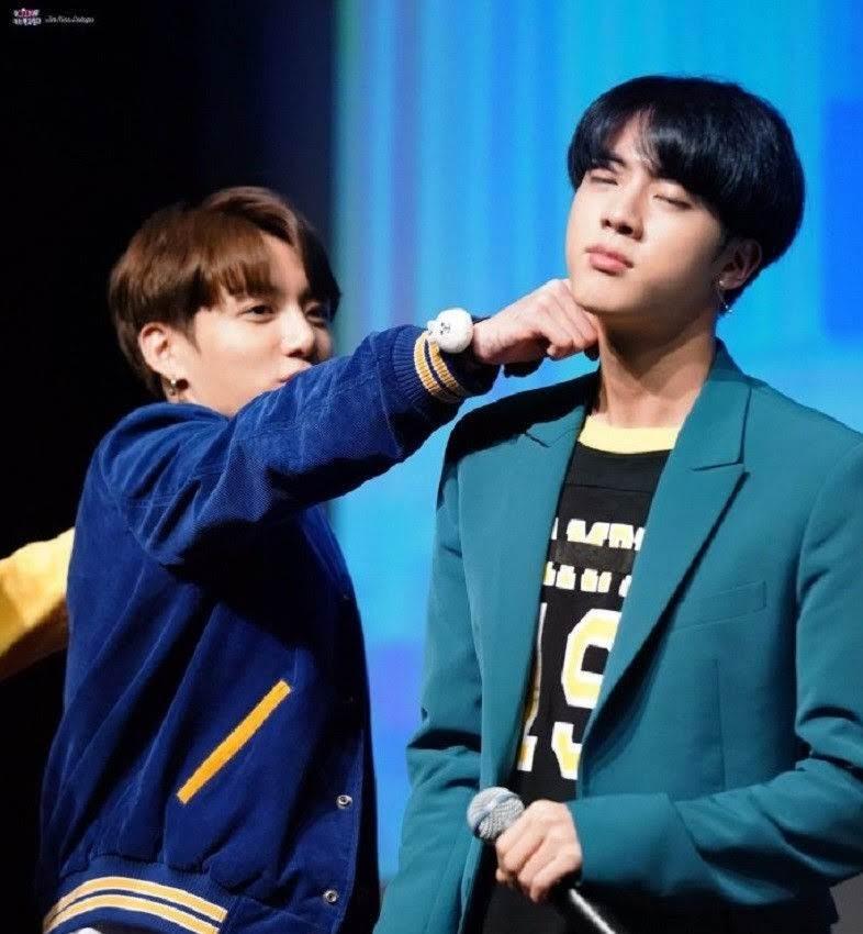BTS Jungkook Teasing Jin