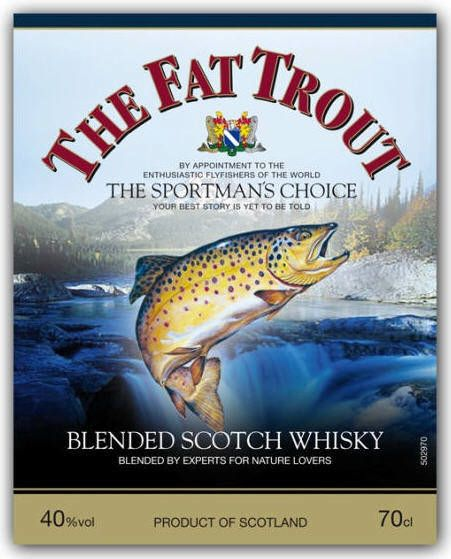 Logo for The Fat Trout Blended Scotch