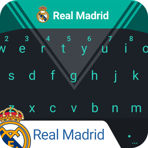 Real Madrid Pitch Dark Keyboard Theme