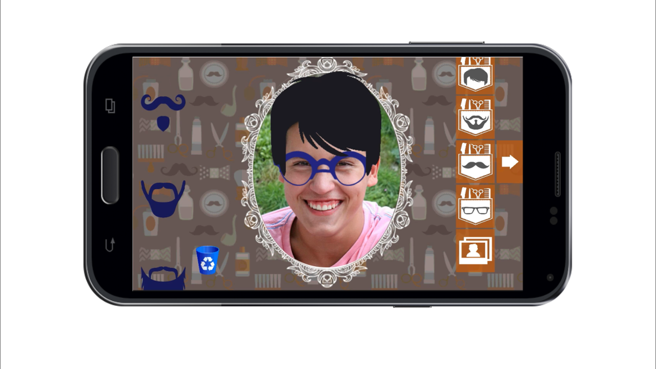 Hipsters Creator- screenshot
