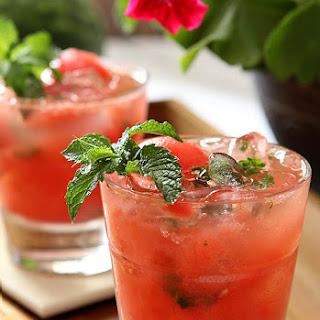 Watermelon Mint Mojitos