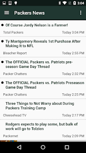Football News - Packers- screenshot thumbnail