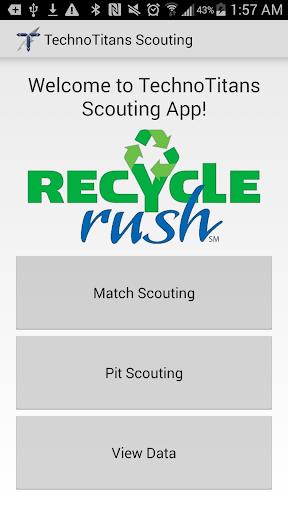 FRC Scouting 2015