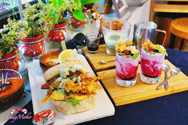 台北大安站早午餐 桔梗三明治,蟹蟹大家 抹茶冰球牛奶 優雅慢步調早餐