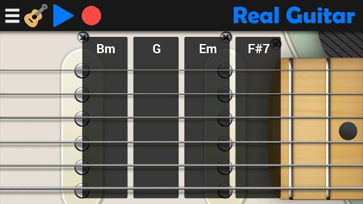 Real Guitar - screenshot