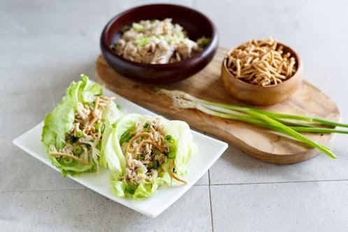 Amazing & Easy Crock Pot Chicken Lettuce Wraps