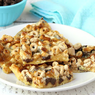 Gooey Cheerio & Chocolate Bars.